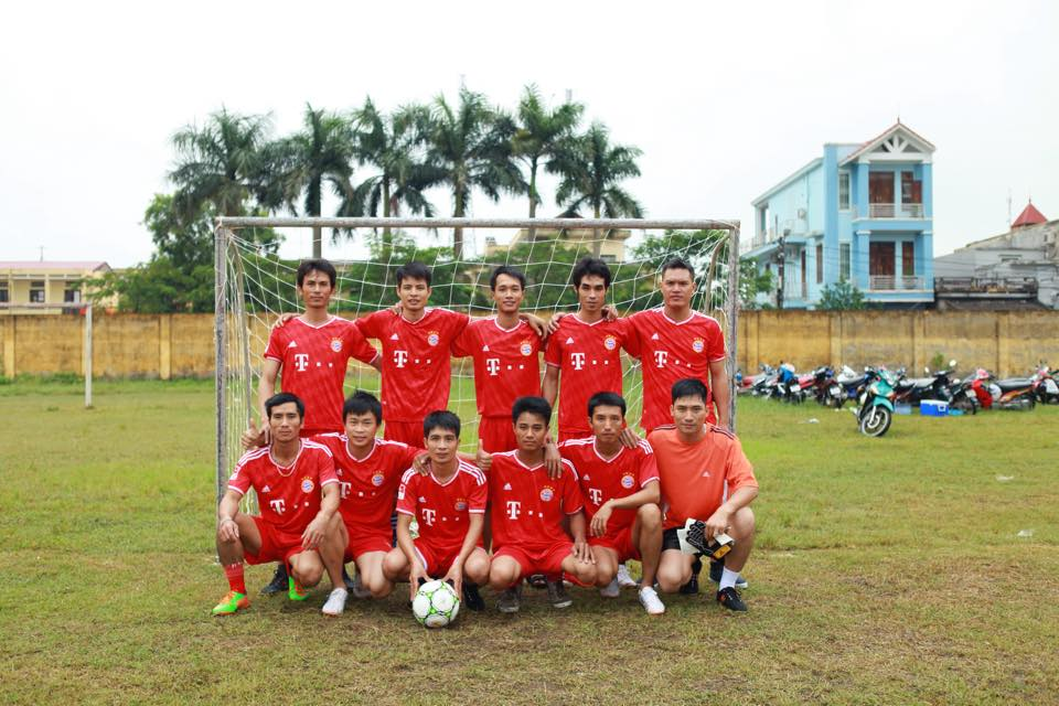 Vinh Bao workers championship football tournament